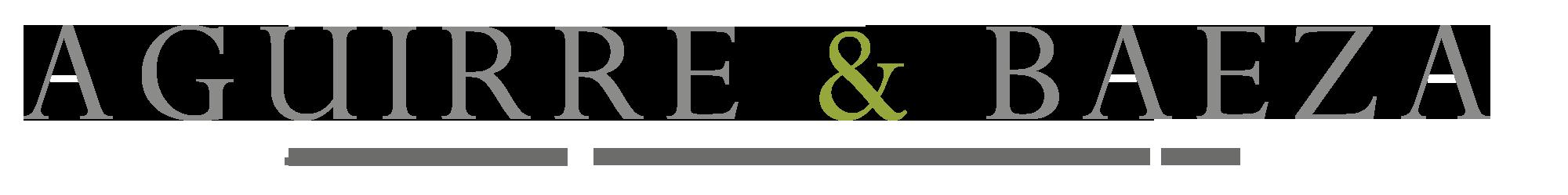 Aguirre Baeza logo